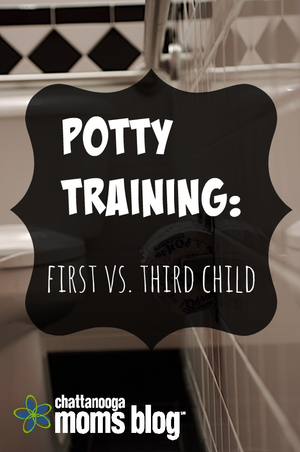 Potty Training My First vs. Third Child: the Bad and the Ugly