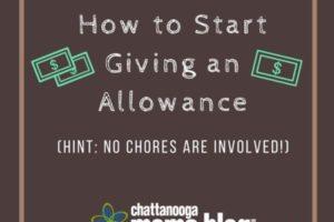 How to Start Giving an Allowance