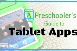 Preschool Tablet Apps