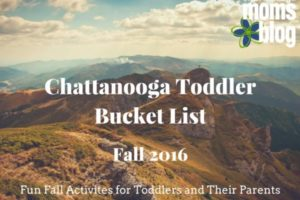 Chattanooga Toddler Bucket List