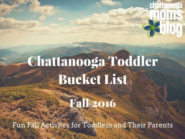 Chattanooga Toddler Bucket List