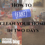 How to (Fake) Clean Your Home in Two Days