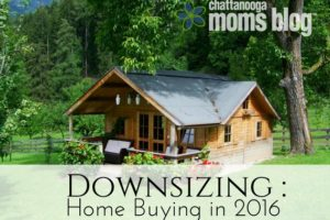 Downsizing- Home buying in 2016