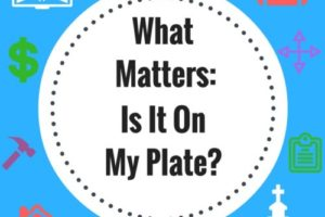 What Matters-