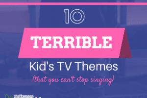 10 Terrible Kid's TV Themes