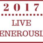 2017 — Live Generously