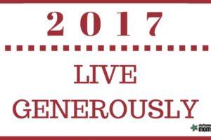 Live Generously