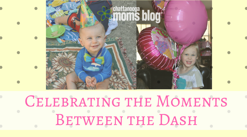 Celebrating the Moments between the dash