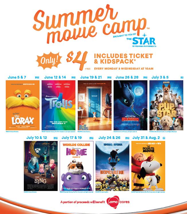Chattanooga Summer Kid Movie Series