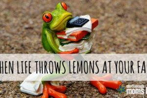 life throws lemons title