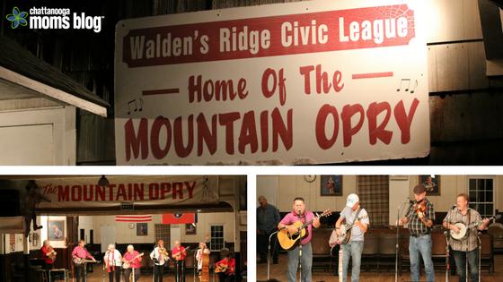 Mountain Opry bluegrass concert, Signal Mountain