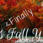 It's FINALLY Fall Y'all!