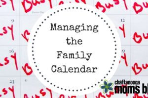 Managing the Family Calendar