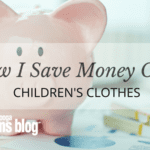 How I Save Money on Kids' Clothes