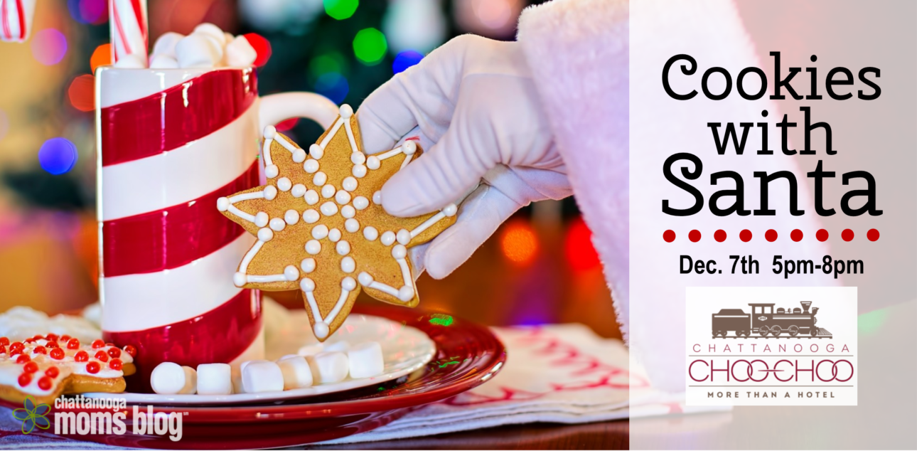 Chattanooga Moms Blog Cookies With Santa Event