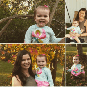 Learning to Love My Body, Again- Mom and Daughter Collage