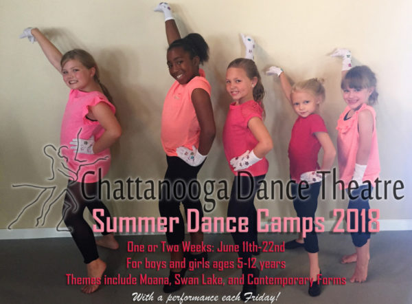 Chattanooga Dance Theatre Summer Camps