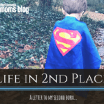 Life in 2nd Place: A Letter of Apology to My Second Born