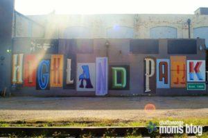Highland Park mural