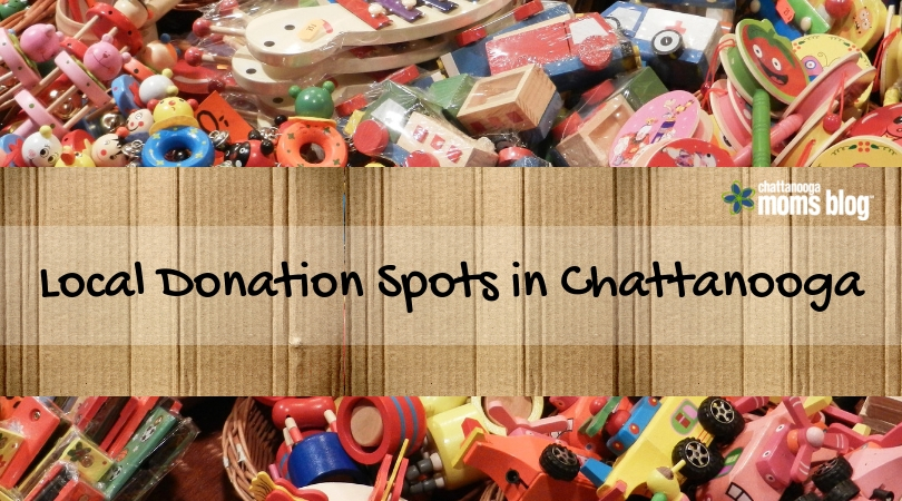 Local Donation Spots in Chattanooga