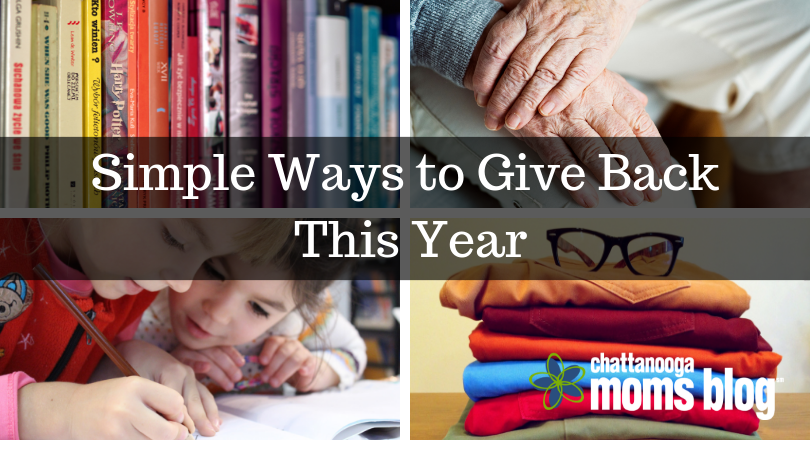 Simple Ways to Give Back This Year