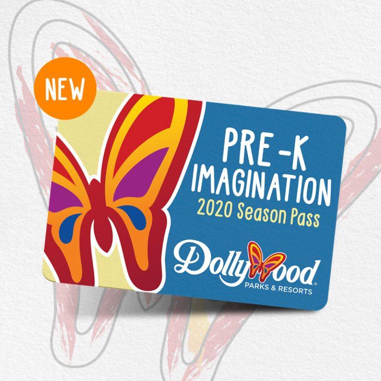 Dollywood Pre-K Imagination Season Pass