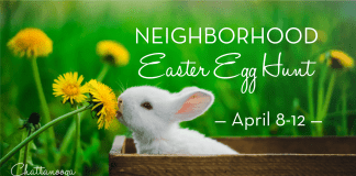 Chattanooga Moms Neighborhood Egg Hunt