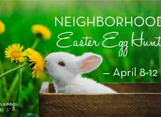 Chattanooga Moms Neighborhood Egg Hunt