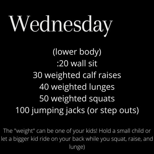 Lower Body Workout